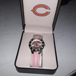 Pink Chicago Bears watch